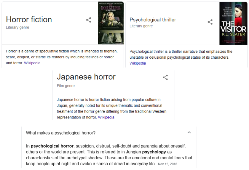 Another, horror definitions